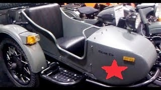 8. NEW RUSSIAN MOTORCYCLES NOW SOLD IN US 2013 URAL GEAR UP !