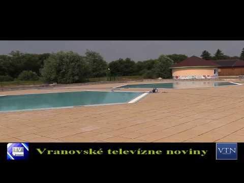 Vranov: letné kúpalisko bude otvorené už túto sobotu, 24. júna 2017