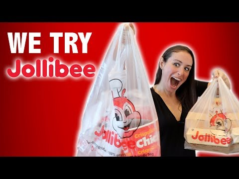 FIRST TIME TO JOLLIBEE, SO LETS ORDER EVERYTHING!!!
