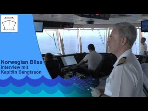 Norwegian Bliss: Interview mit Kapitän Staffan Bengtsso ...