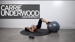 Carrie Underwood Legs Workout for Women