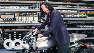 Video Keanu Reeves Shows Us His Most Prized Motorcycles | Collected | GQ MP3, 3GP, MP4, WEBM, AVI, FLV Agustus 2019