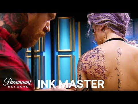 Negative Space - Elimination Tattoo | Ink Master: Return of the Masters
