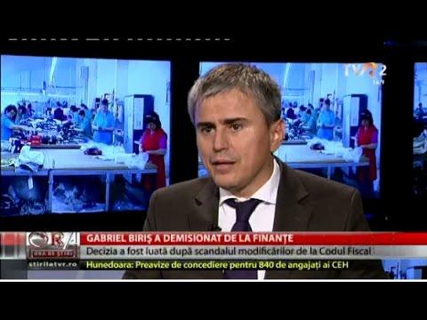 Gabriel Biriş: ministrul Anca Dragu ştia de existenţa proiectului de modificare a Codului Fiscal