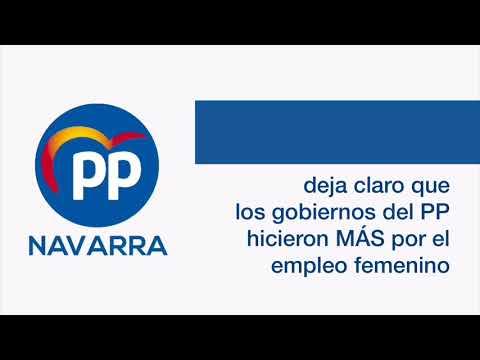 Javier García: el PP y el empleo femenino