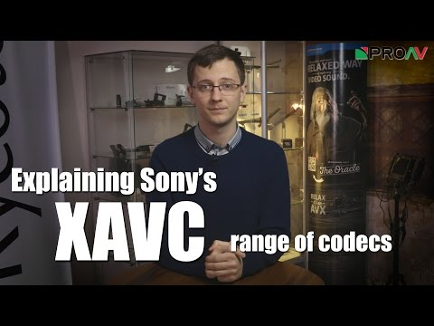 Explaining Sony S XAVC Codec S XAVC I XAVC L And XAVC S