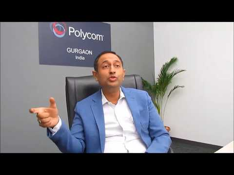Mr. Ankur Goel, Director, Sales & Channels, Polycom India & SAARC- Part 1