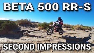 2. Beta 500 RR-S Second Impressions - Ocotillo Wells SVRA
