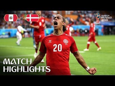 Peru v Denmark - 2018 FIFA World Cup Russia™ - Match 6 (видео)