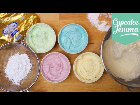 Buttercream Masterclass: How to make Perfect Buttercream Icing   Cupcake Jemma