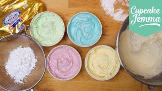 Buttercream Masterclass: How to make Perfect Buttercream Icing   Cupcake Jemma by Cupcake Jemma