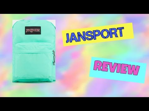 Jansport Supermax Backpack Review! Teal and floral