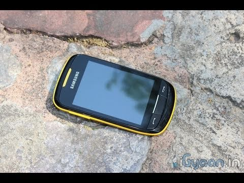 Samsung Corby II  2 S3850 Unboxing and Review