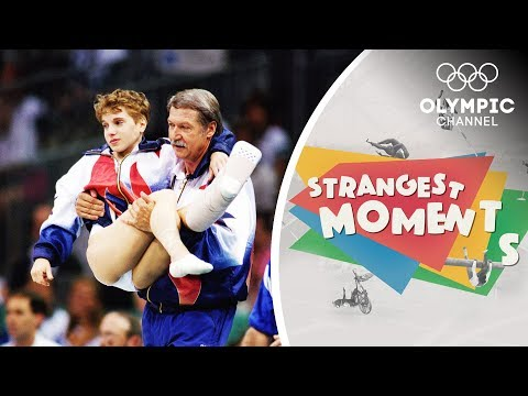 Kerri Strug's Unforgettable Determination to Win Gymnastics Olympic Gold | Strangest Moments