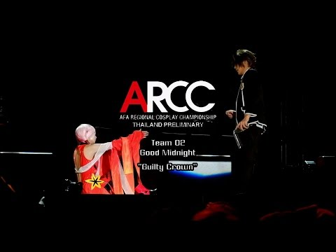 ARCC Thailand Preliminary Cosplay Contest 2015 Team Team 2 Good Midnight – Guilty Crown