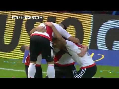 Belo gol do Alario em uma bela jogada de contra at...