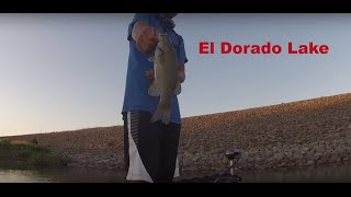 El Dorado (KS) United States  city images : Bass fishing, El Dorado Lake Ks.