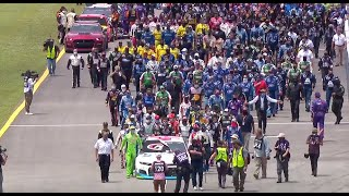 NASCAR unites around Bubba Wallace at Talladega Superspeedway