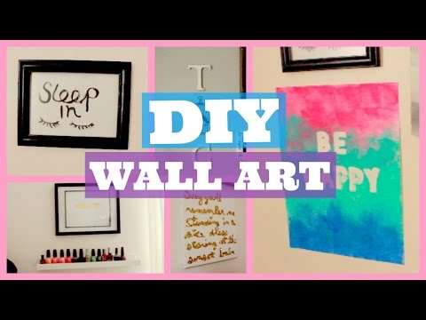 DIY Room Decor | Prints + Wall Art | PART 2 (видео)