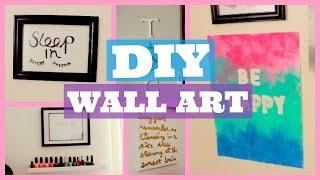 DIY Room Decor  Prints + Wall Art  PART 2