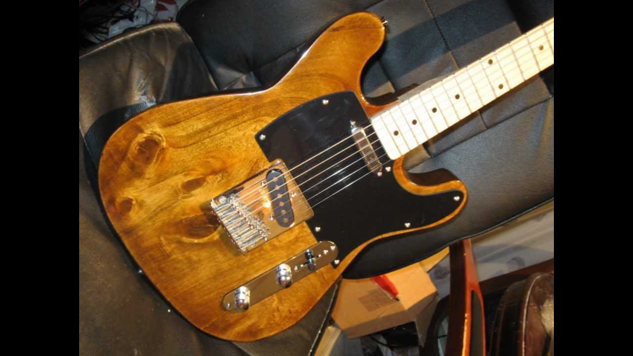 Making an Electric Bass Guitar