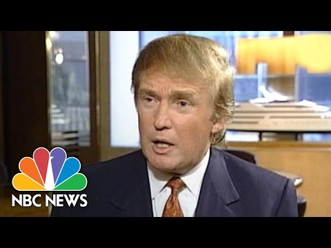 Video 1998: Donald Trump Comments On Bill Clinton And The Lewinsky Scandal | NBC News download in MP3, 3GP, MP4, WEBM, AVI, FLV January 2017