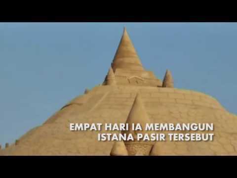 Pemecah Rekor Istana Pasir Tertinggi Dunia