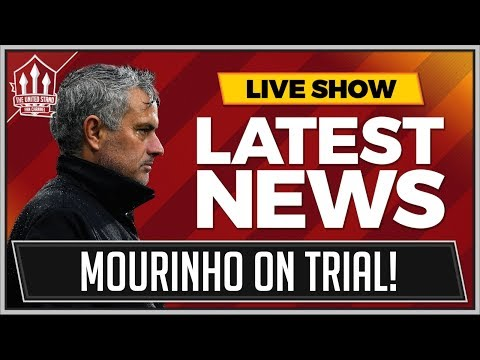 MOURINHO's BIG Manchester United Test! MAN UTD News