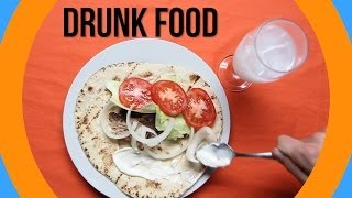 The Most Popular Drunk Foods Around The World
