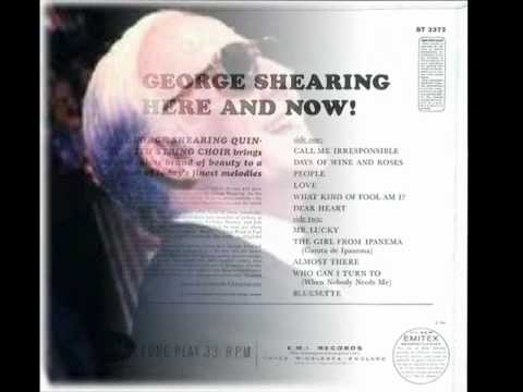 George Shearing - What Kind Of Fool Am I (1965)