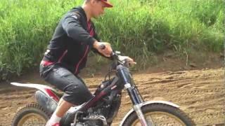 9. Bobryshev on Montesa Honda Cota 4RT Trials bike