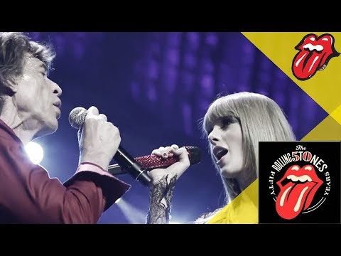 The Rolling Stones & Taylor Swift – As Tears Go By – Live in Chicago