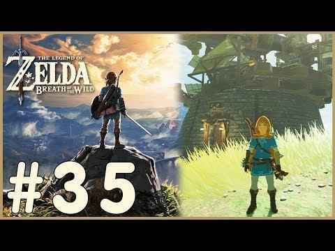 Zelda: Breath Of The Wild - Akkala Tech Lab (35) (видео)