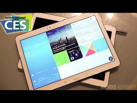Samsung Galaxy NotePRO 12.2 First Look! [CES 2014]