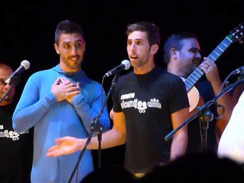 Chirigota del Canijo en Archidona 2013 (8) - Imitando cantantes