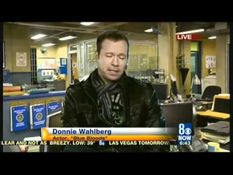 Interview with Blue Bloods Donnie Wahlberg
