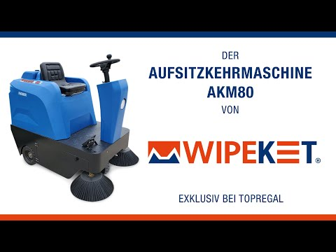 Produktvideo Aufsitzkehrmaschine AKM80