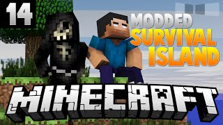 THE GOD (NOTCH) APPLE! [14] ( Modded Survival Island ) w/AciDic BliTzz&Taz!
