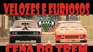 Nonton Velozes e Furiosos no GTA 5!! Cena do trem! Fast And Furious on the GTA 5! Train scene! Film Subtitle Indonesia Streaming Movie Download