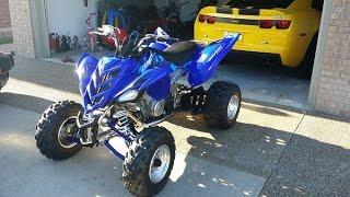 1. 2006 Yamaha Raptor 700R - First Ride