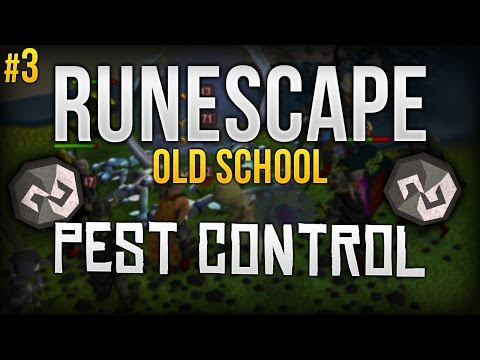(#3) RuneScape 07 | Pest Control | The struggle of getting full Void.