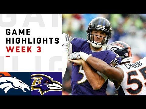 Broncos vs. Ravens Week 3 Highlights | NFL 2018 - Thời lượng: 11:00.