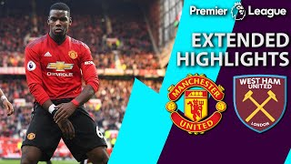 Video Man United v. West Ham | PREMIER LEAGUE EXTENDED HIGHLIGHTS | 4/13/19 | NBC Sports MP3, 3GP, MP4, WEBM, AVI, FLV April 2019