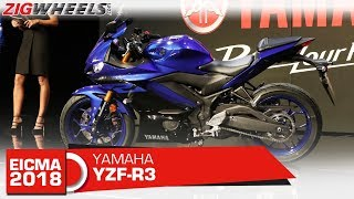 5. 2019 Yamaha YZF-R3 | Updated for 2019 | EICMA 2018