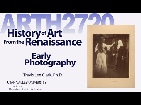 Lecture09 Early Photography