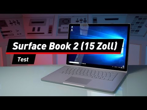 Microsoft Surface Book 2 (15 Zoll) im Test: Größer au ...