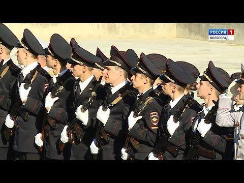 Присяга в Волгоградской академии МВД