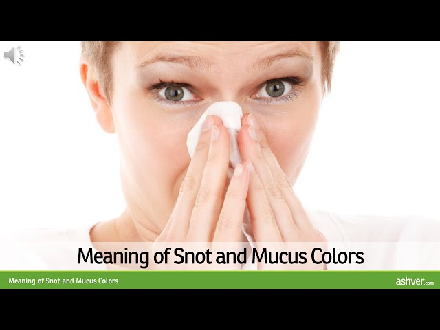 Meaning-of-snot-and-mucus