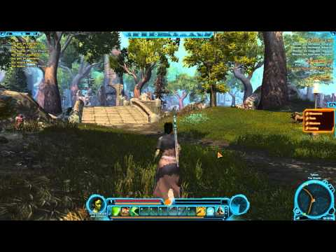Star Wars: The Old Republic – Walkthrough Part 2 – Flesh Warriors! – (PC Gameplay / Commentary)