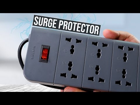 Belkin 8 socket surge protector | Unboxing and review
